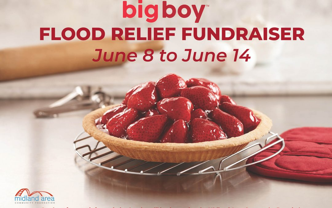 Strawberry Pie Fundraiser for Flood Relief in Midland County